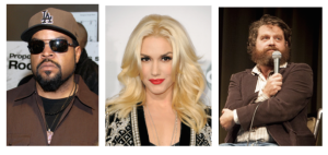 Ice Cube, Gwen Stefani and Zack Galifianakis were all born in 1969